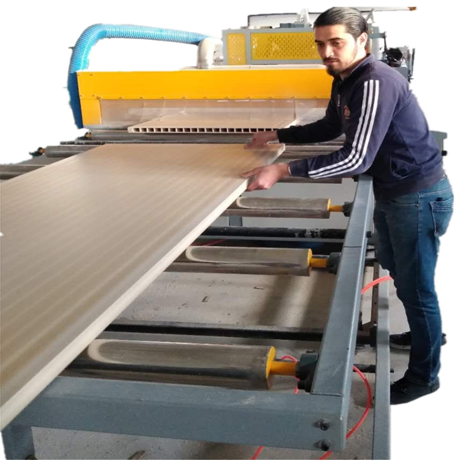 WPC door production machine