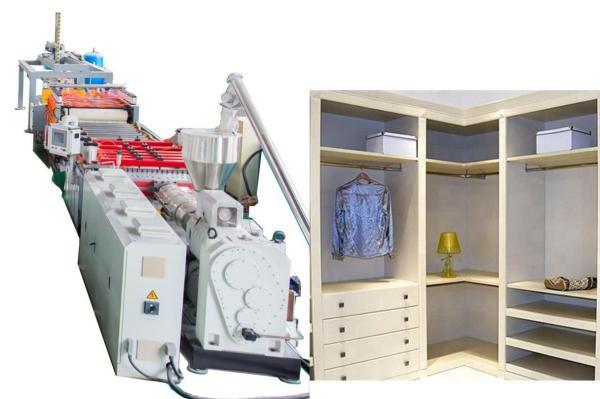 5-35mm Machine d'extrusion en mousse en mousse en mousse en pvC