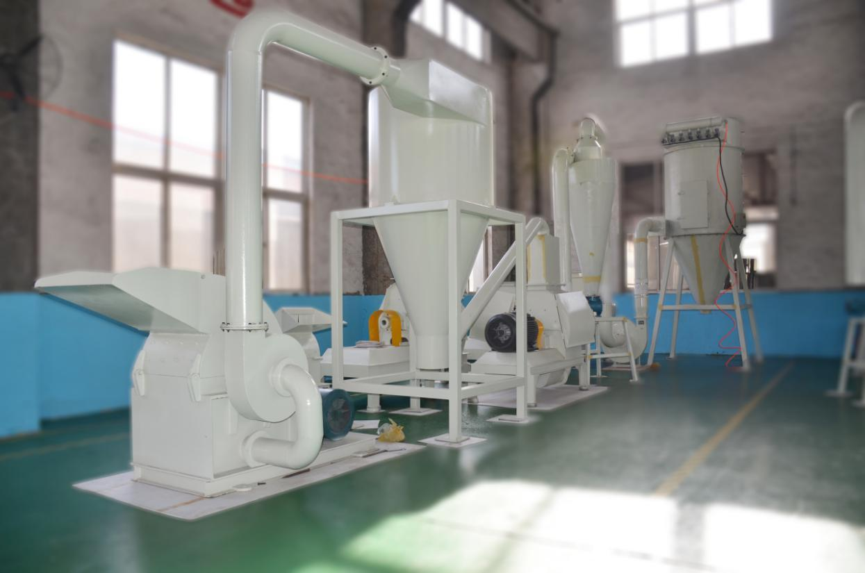 wood powder milling machine