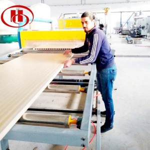 PVC WPC door production machine use PVC and wood  to make WPC door panel and WPC door frame