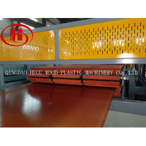 plastic and wood composite WPC panel making machine complete extrusion line WPC board making machine