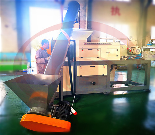 plastic film granulation machine