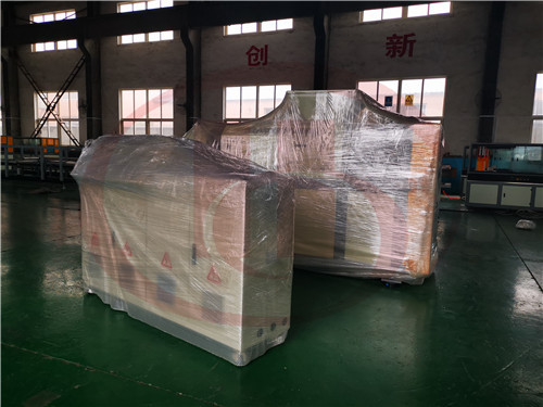 plastic film recycle machine packing
