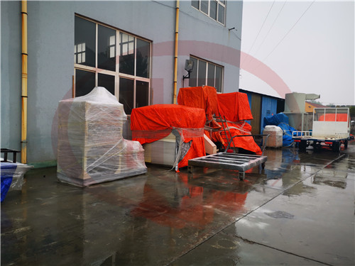 plastic machine packing