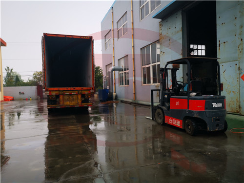 plastic machine delivery