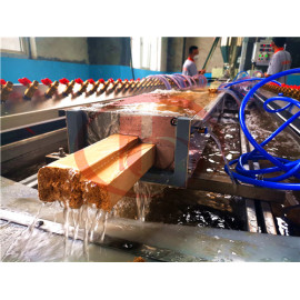 WPC door production plant latest formula and raw material for making low cost WPC door panel
