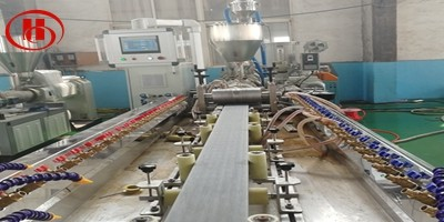 wpc decking machine to vietnam