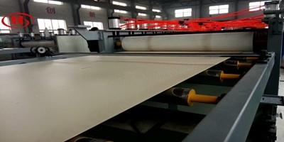 PVC WPC foam board machine to Venezuela