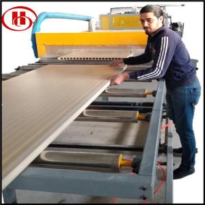 PVC WPC door making machine turnkey project