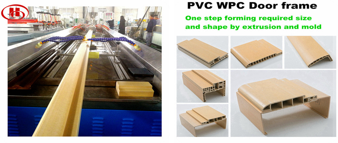 WPC door frame production line