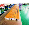 PVC WPC window profiles production machine with co-extrusion