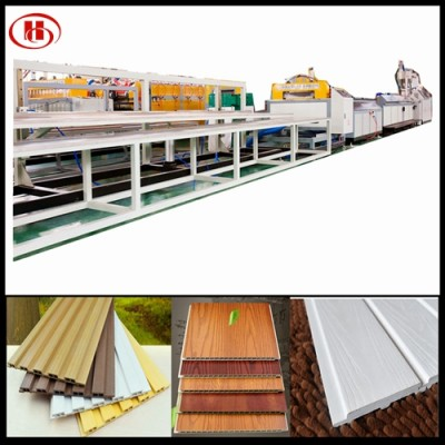 600mm PVC WPC wall panel production line