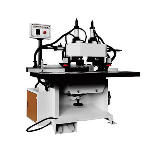 wpc door lock hole drilling machine