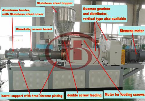 Special designed high quality WPC extruder