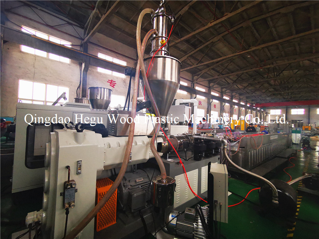 WPC profile extruder