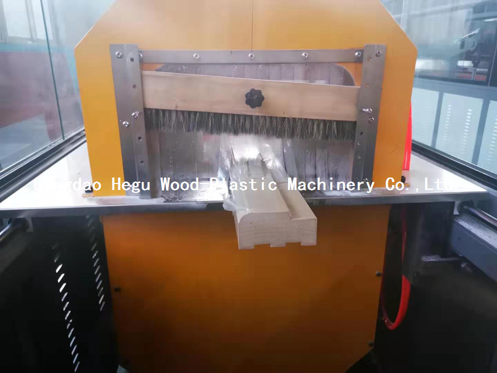 wpc door frame cutting machine