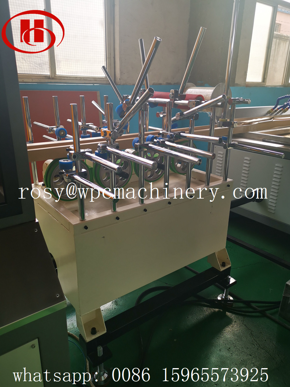 Protection film coating line