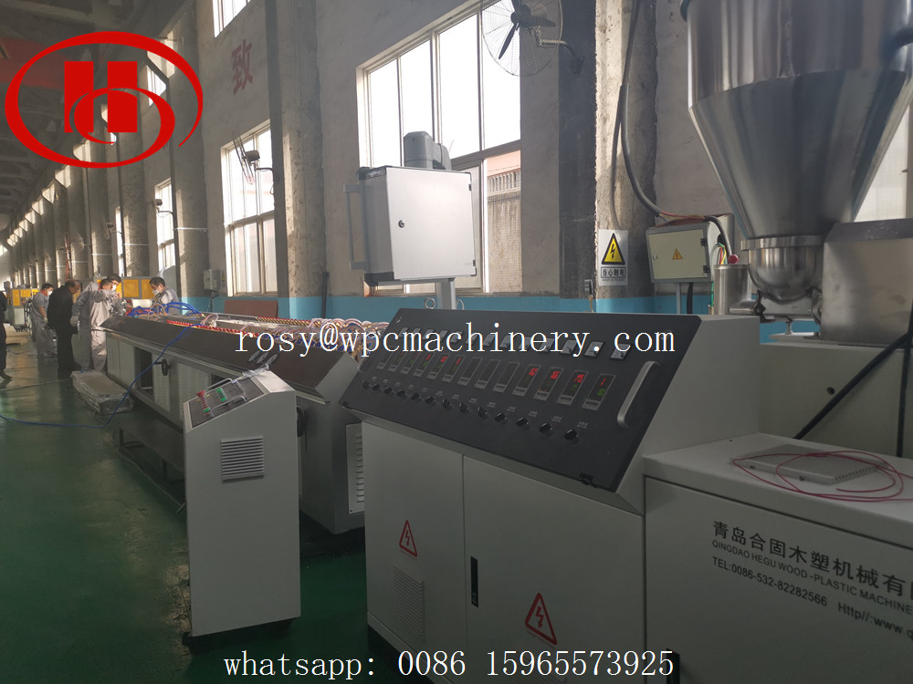 Solid WPC door frame machine