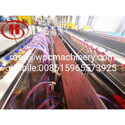 Wood Plastic WPC products making machine using wood wastage and recycled plastic