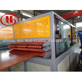 Uzbekistan customer order PP WPC sheet making machine for thermal forming