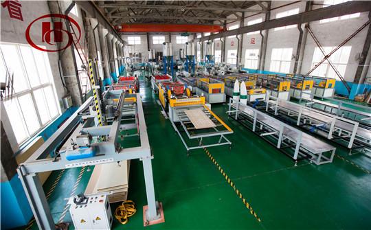 PVC WPC foaming board making machine