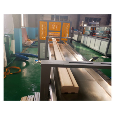 PVC door making machine price / WPC door production machine