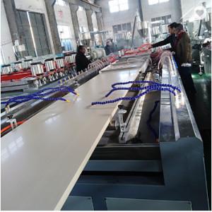 WPC door panel extrusion lines