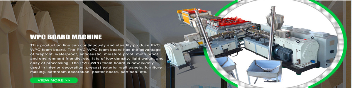 PVC and wood WPC foam board extrusion machine for making WPC furniture board and door board