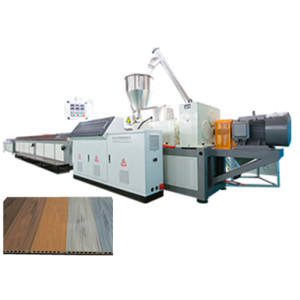 WPC Decking Making Machine using plastic wastage PP PE Wood Composite WPC profile Machine