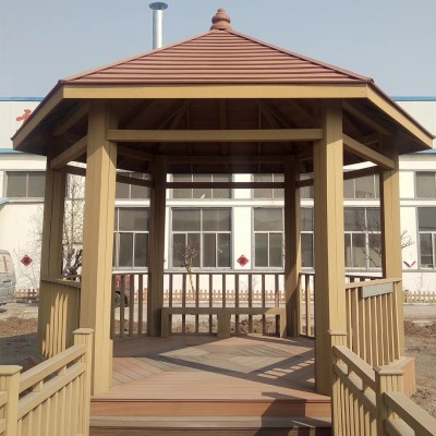 WPC summerhouse profile mold