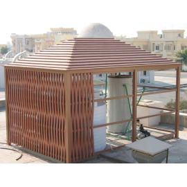 Plastic lumber making machine ordered by Qatar customer