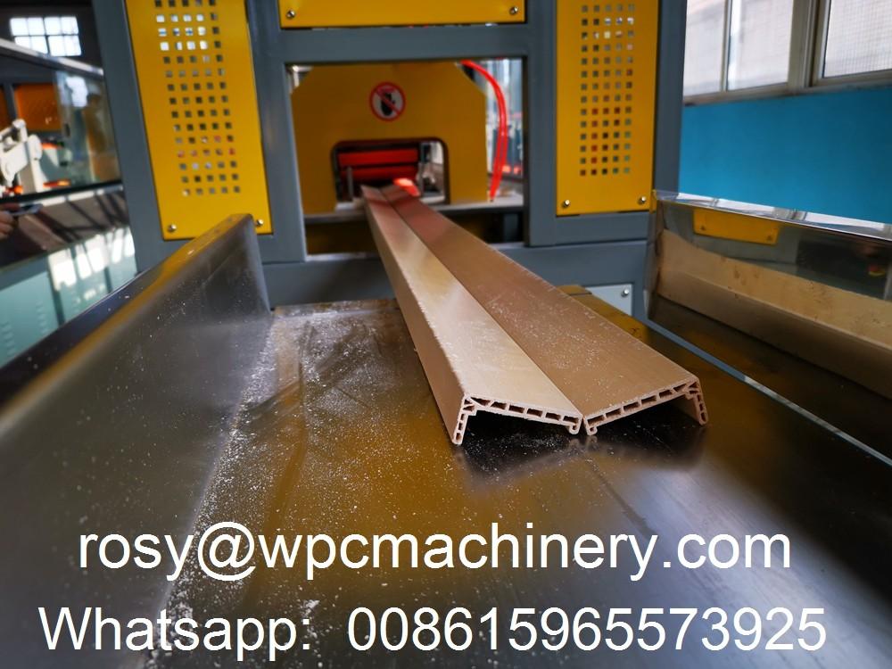 WPC door frame cutting machine