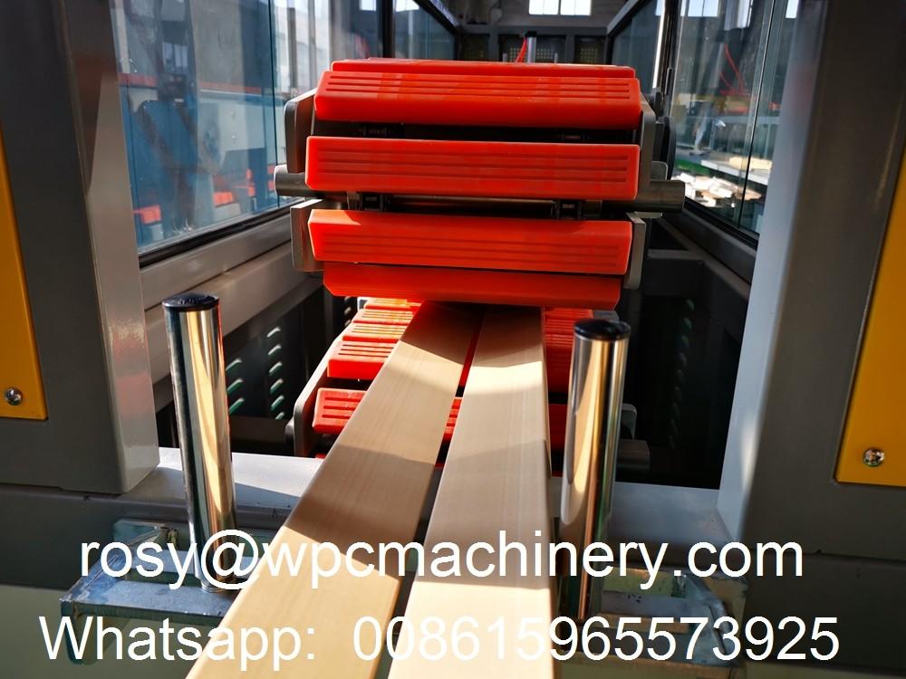 WPC door architrave pull off machine
