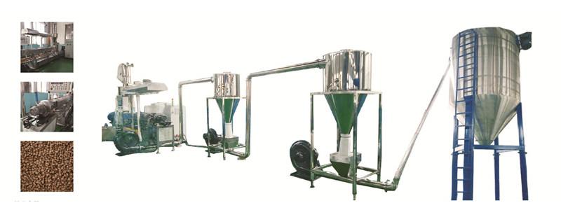 PE WPC granulating machine