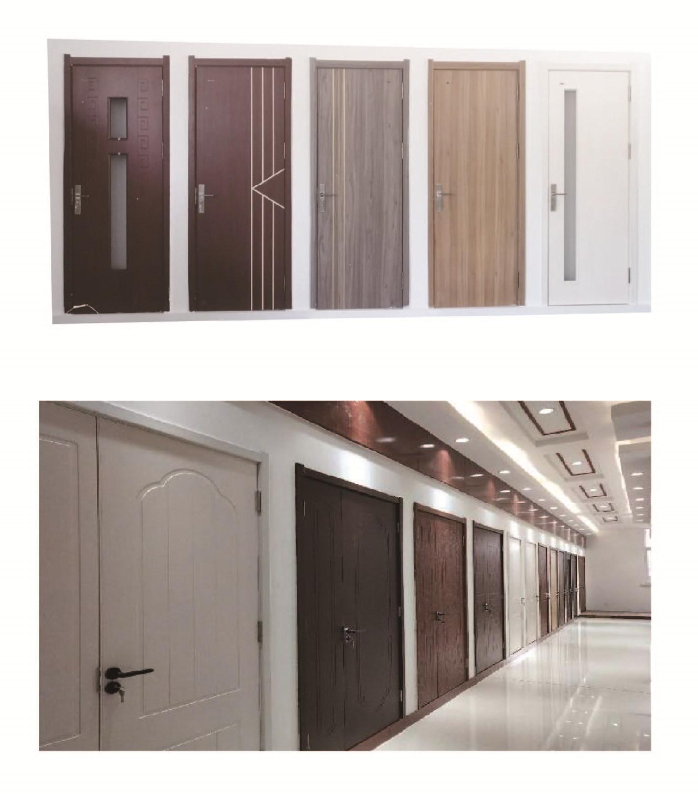 PVC WPC door application