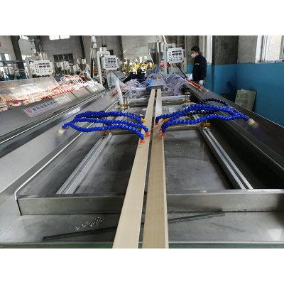 PVC WPC door architrave making machine