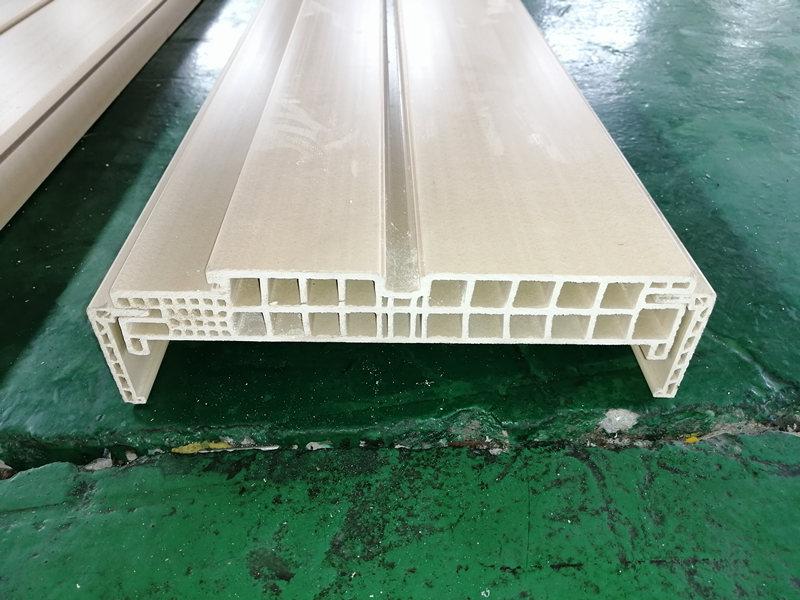 Hollow type PVC WPC door frame