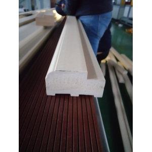 India market solid PVC WPC door frame making machine