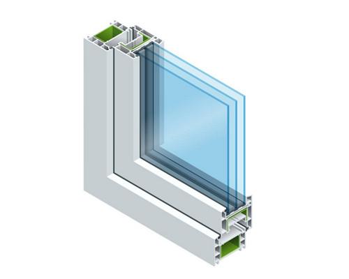 PVC window profiles machine provider