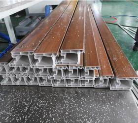 PVC profiles extrusion machine manufacturer