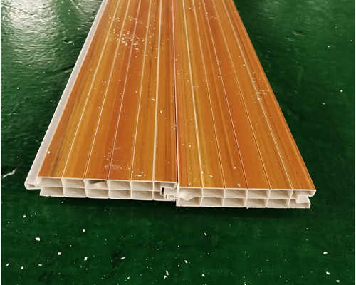 PVC co-extrusion wall panel production line