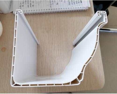 PVC rain gutter profiles machine line