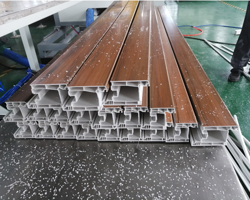 PVC co-extrusion window profiles