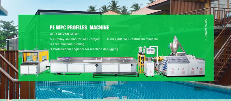 PE WPC PROFILES MACHINE