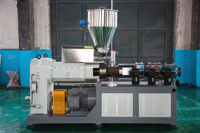 Conical double screw extruder SJMS65/132