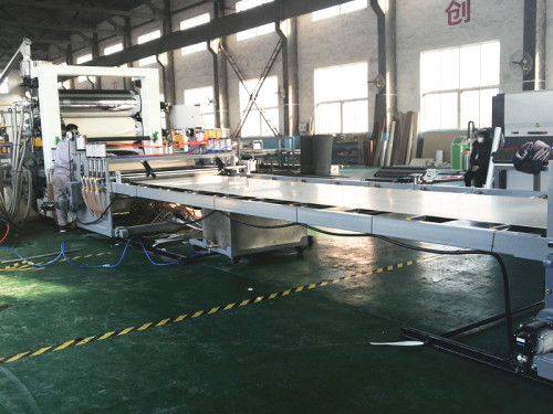 Пластиновая экструзионная линия для производства листов/мебельных кромок из ПВХ