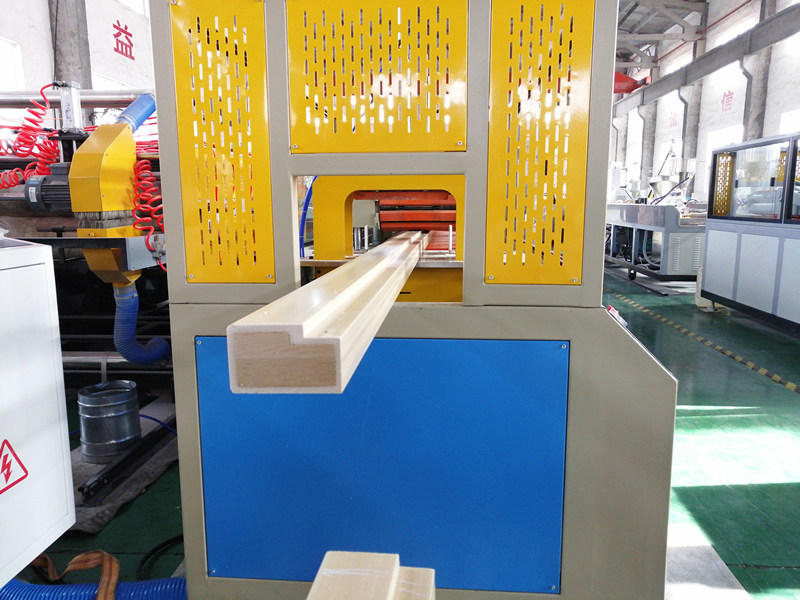 WPC and LVL solid door frame prosuction line