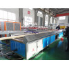 Low cost high speed wood core wpc solid door frame making machine