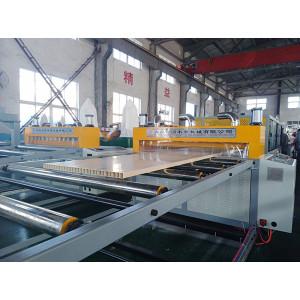 SJMS80/156 Hollow PVC WPC door panel manufacturing machine WPC door making machine