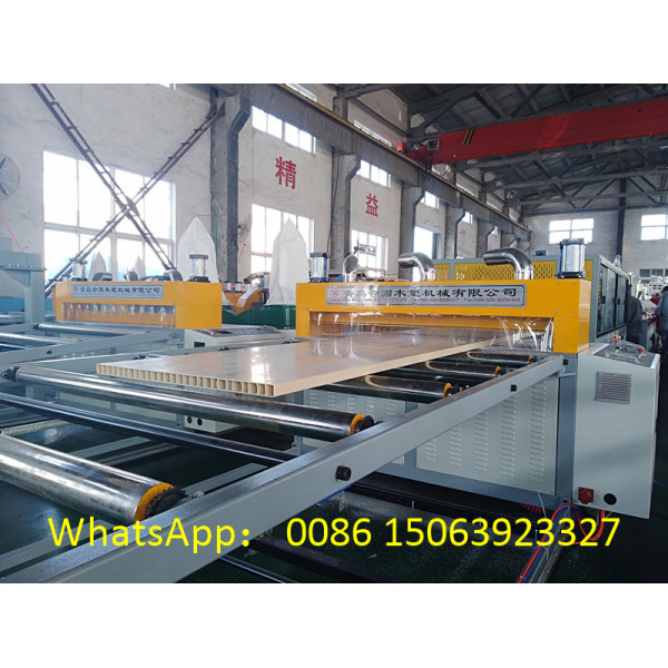 wpc door panel making machine price / wpc door extrusion line